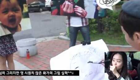 韩国人社区驾车的感人求婚