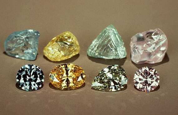 戴瑞钻石学院——彩钻颜色形成的原因