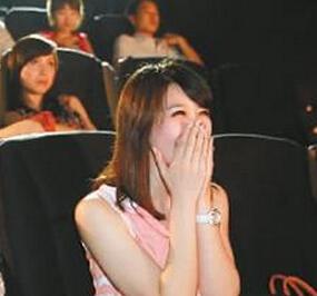 电影院求婚故事