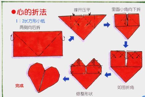 香港戴瑞珠宝官网心形的折叠方法