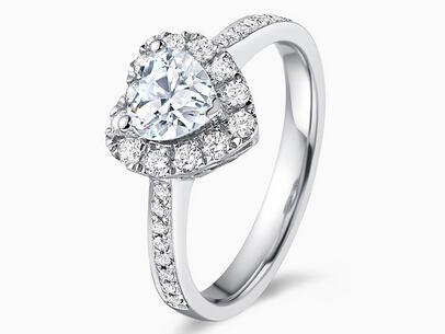 戴瑞珠宝 钻石学院 心形钻石